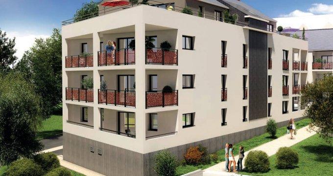 Achat / Vente programme immobilier neuf Grandchamp-des-Fontaines au cœur du centre bourg (44119) - Réf. 6225