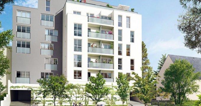 Achat / Vente programme immobilier neuf Nantes proche bord du Cens (44000) - Réf. 230