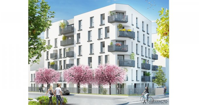 Achat / Vente programme immobilier neuf Nantes proche de la Place Viarme (44000) - Réf. 1277