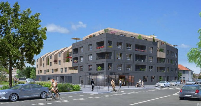 Achat / Vente programme immobilier neuf Nantes quartier Bottière proche commerces et transports (44000) - Réf. 4259