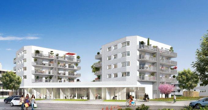 Achat / Vente programme immobilier neuf Nantes quartier de La Beaujoire (44000) - Réf. 209