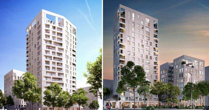 Achat / Vente programme immobilier neuf Nantes quartier Euronantes (44000) - Réf. 1042