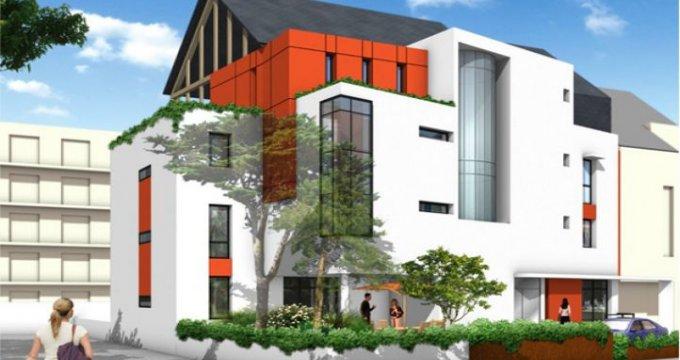 Achat / Vente programme immobilier neuf Pornichet à 100m de la plage (44380) - Réf. 13