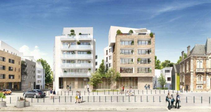 Achat / Vente programme immobilier neuf Rezé au coeur du centre historique et des commodités (44400) - Réf. 4176
