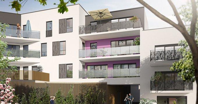 Achat / Vente programme immobilier neuf Rezé coeur de ville (44400) - Réf. 1874