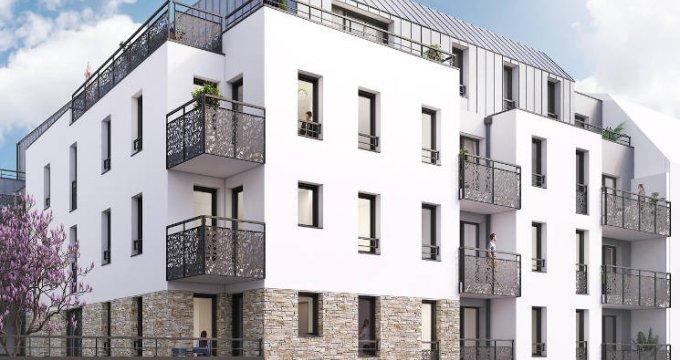 Achat / Vente programme immobilier neuf Saint-Herblain coeur de ville (44800) - Réf. 4931