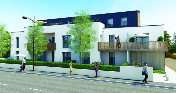 Achat / Vente programme immobilier neuf Saint-Herblain proche mairie (44800) - Réf. 2184