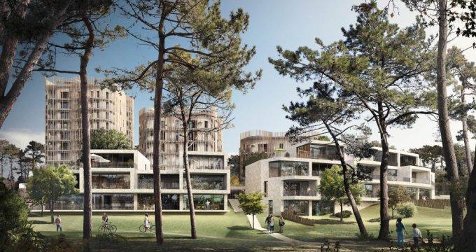 Achat / Vente programme immobilier neuf Saint Herblain quartier Bagatelle : environnement boisé (44800) - Réf. 459