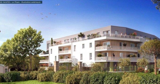 Achat / Vente programme immobilier neuf Saint-Nazaire quartier du Phare de Kerlédé (44600) - Réf. 2075