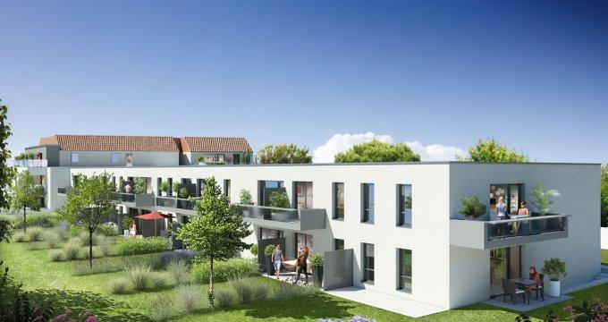 Achat / Vente programme immobilier neuf Saint-Sébastien-sur-Loire quartier de la martellière (44230) - Réf. 1105