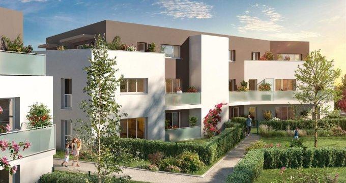 Achat / Vente programme immobilier neuf Saint-Sébastien-sur-Loire quartier les Savarières (44230) - Réf. 5786