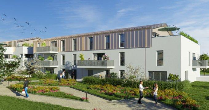 Achat / Vente programme immobilier neuf Sautron au cœur du quartier Brimberne (44880) - Réf. 5749