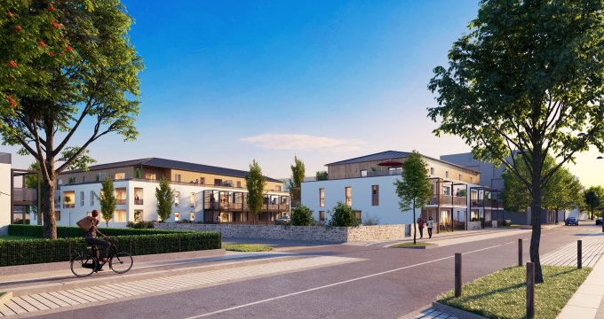 Achat / Vente programme immobilier neuf Sautron coeur de ville (44880) - Réf. 3222