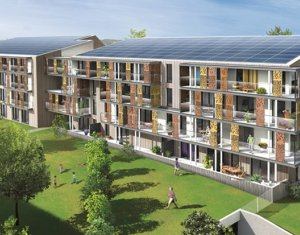 Achat / Vente programme immobilier neuf Carquefou écoquartier Fleuriaye (44470) - Réf. 508
