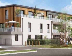 Achat / Vente programme immobilier neuf Carquefou proche arrêt de bus (44470) - Réf. 4063