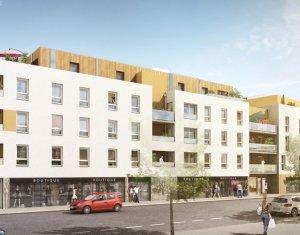 Achat / Vente programme immobilier neuf Nantes proche centre commercial Paridis (44000) - Réf. 1080