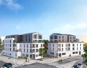 Achat / Vente programme immobilier neuf Rezé au cœur du quartier Butte de Praud (44400) - Réf. 6162