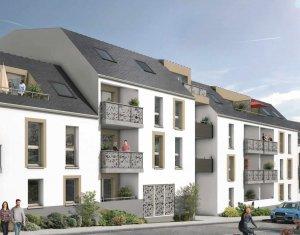 Achat / Vente programme immobilier neuf Saint-Sébastien-sur-Loire quartier de la Martellière (44230) - Réf. 424