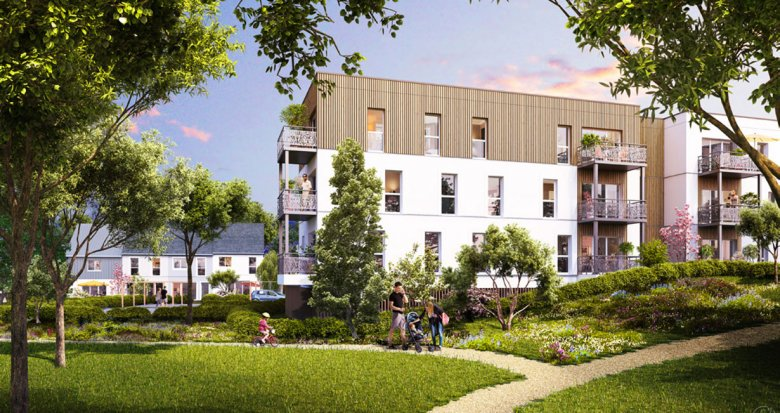 Achat / Vente programme immobilier neuf Ancenis en plein coeur de ville (44150) - Réf. 1699