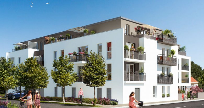 Achat / Vente programme immobilier neuf Bouaye proche Nantes (44830) - Réf. 524