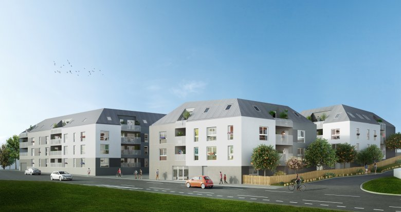 Achat / Vente programme immobilier neuf Bouguenais proche grandes axes (44340) - Réf. 2109
