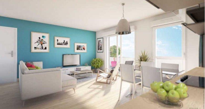 Achat / Vente programme immobilier neuf Bouguenais sud-ouest centre Nantes (44340) - Réf. 3053