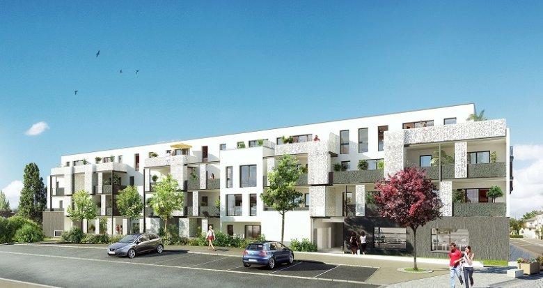 Achat / Vente programme immobilier neuf Carquefou cœur de bourg (44470) - Réf. 469