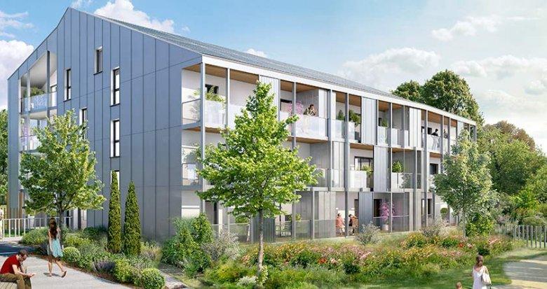 Achat / Vente programme immobilier neuf Carquefou dans l'éco-quartier de la Fleuriaye II (44470) - Réf. 1118