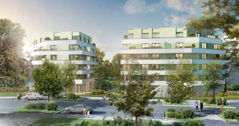 Achat / Vente programme immobilier neuf Carquefou proche du Golf (44470) - Réf. 2951