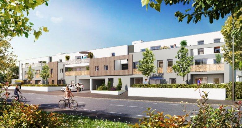 Achat / Vente programme immobilier neuf Carquefou quartier Housseau/Chêne vert (44470) - Réf. 1446