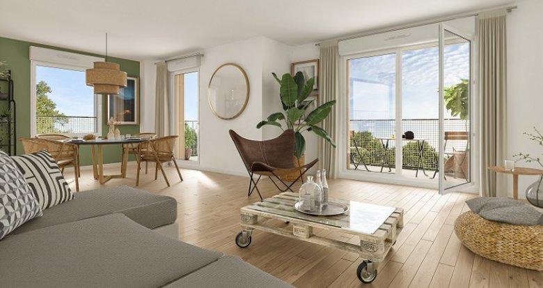 Achat / Vente programme immobilier neuf Cœur Boisé (44000) - Réf. 6028
