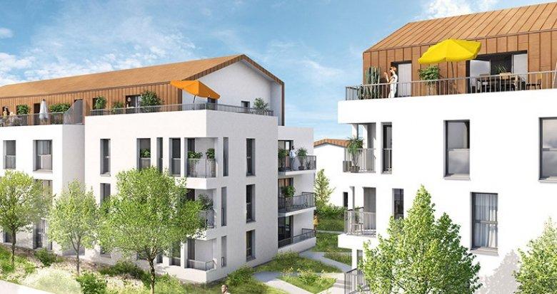 Achat / Vente programme immobilier neuf Couëron plein centre-ville (44220) - Réf. 2618