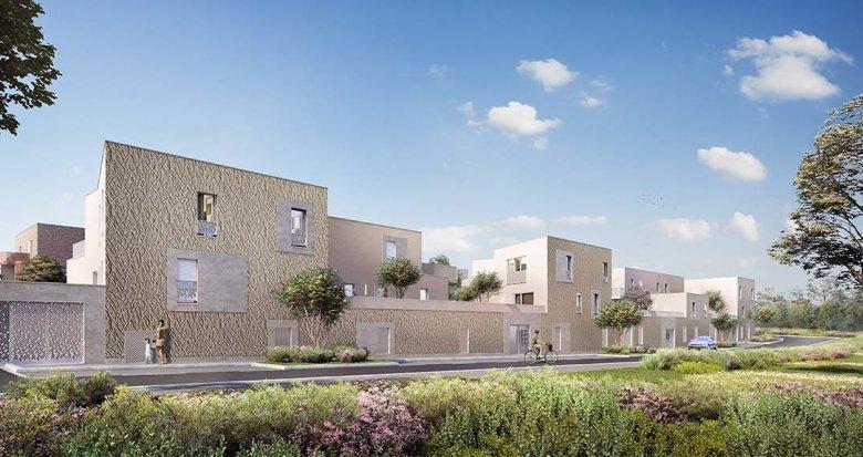 Achat / Vente programme immobilier neuf Couëron quartier de la Chabossière (44220) - Réf. 3483