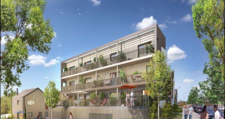 Achat / Vente programme immobilier neuf Couëron rive nord de la Loire (44220) - Réf. 2852