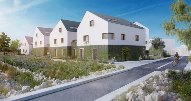 Achat / Vente programme immobilier neuf Guérande au coeur de l'éco-quartier de la Maison Neuve (44350) - Réf. 1655