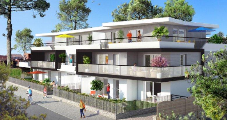 Achat / Vente programme immobilier neuf La Baule-Escoublac quartier du Bois d'Amour (44500) - Réf. 151