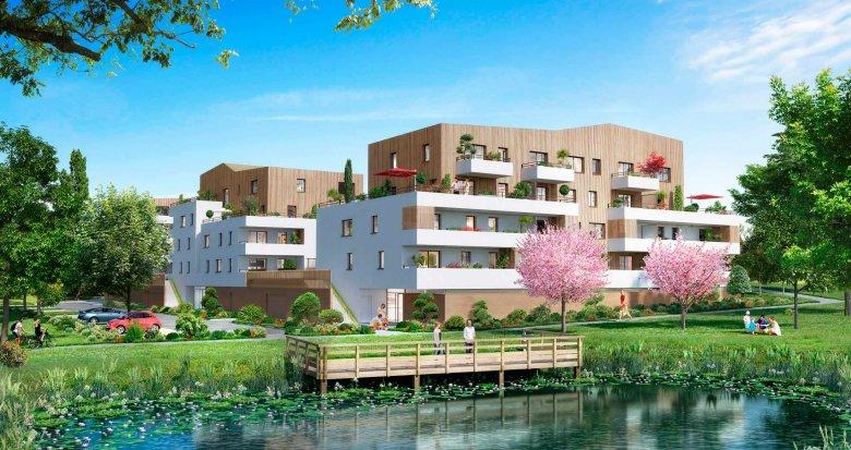 Achat / Vente programme immobilier neuf La Chapelle-sur-Erdre à 5 minutes du centre-ville (44240) - Réf. 343