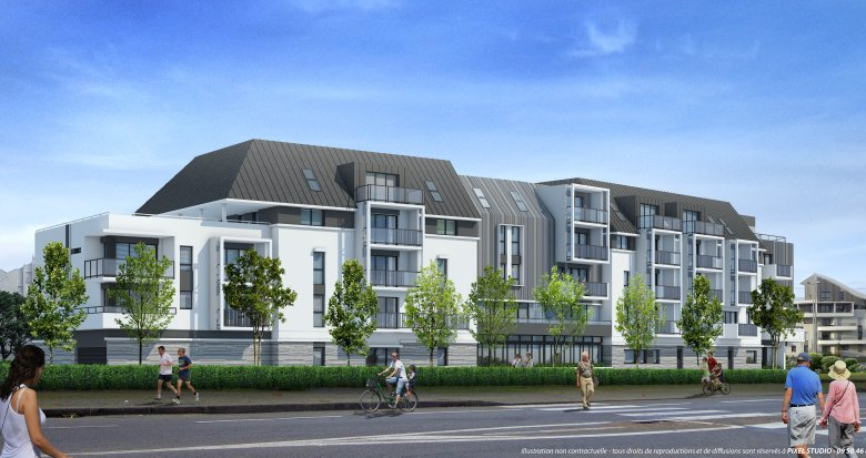 Achat / Vente programme immobilier neuf Le Pouliguen à deux pas du port de plaisance (44510) - Réf. 2364