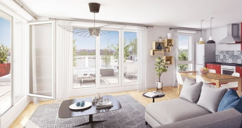 Achat / Vente programme immobilier neuf Les Sorinières centre-ville (44840) - Réf. 3492