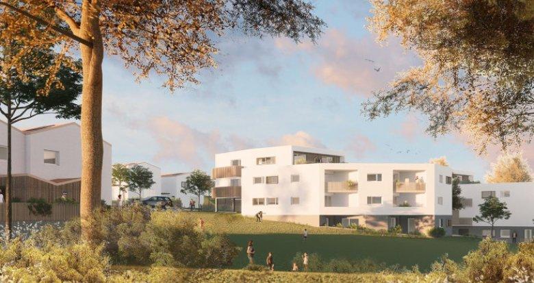 Achat / Vente programme immobilier neuf Mauves-sur-Loire à 2 min de la gare (44470) - Réf. 5423