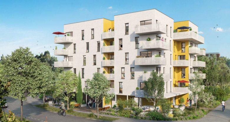 Achat / Vente programme immobilier neuf Nantes à 15 min du cœur de Nantes Erdre (44000) - Réf. 6222