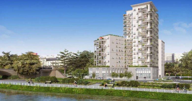 Achat / Vente programme immobilier neuf Nantes à 20 minutes à pied de la gare (44000) - Réf. 4597