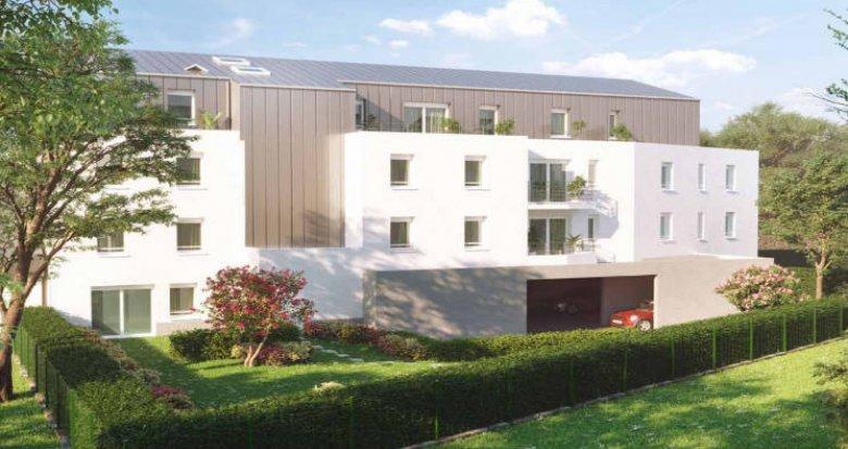 Achat / Vente programme immobilier neuf Nantes à 300 mètres du tramway (44000) - Réf. 4855