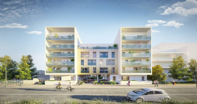 Achat / Vente programme immobilier neuf Nantes à 3min du tramway 1 Jamet (44000) - Réf. 5750