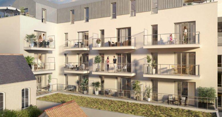 Achat / Vente programme immobilier neuf Nantes à 400 mètres du Canal Saint-Félix (44000) - Réf. 5946