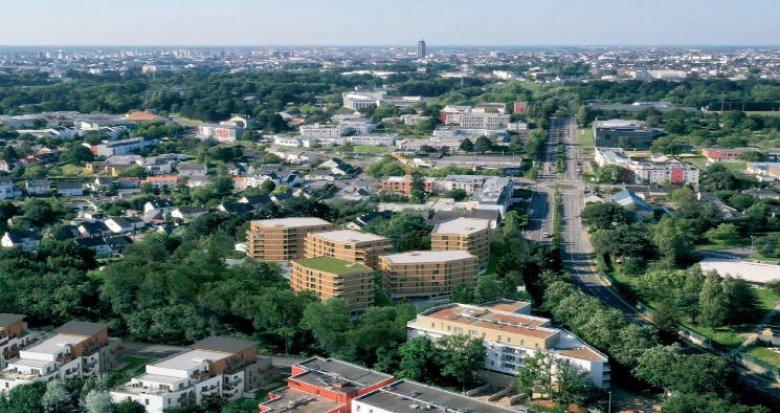 Achat / Vente programme immobilier neuf Nantes à 8 min à pied des universités (44000) - Réf. 4834