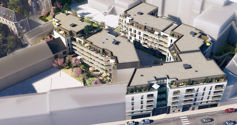 Achat / Vente programme immobilier neuf Nantes à côté du Tramway Viarme-Talensac (44000) - Réf. 1727