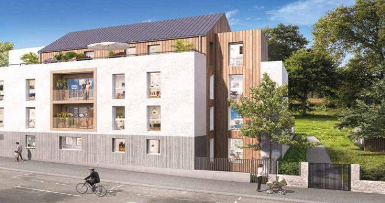 Achat / Vente programme immobilier neuf Nantes au cœur du quartier Contrie (44000) - Réf. 4968