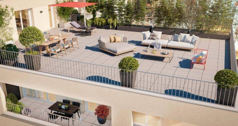 Achat / Vente programme immobilier neuf Nantes au cœur du quartier du Rond-point de Paris (44000) - Réf. 5884