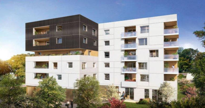 Achat / Vente programme immobilier neuf Nantes au cœur d'un environnement verdoyant (44000) - Réf. 4836